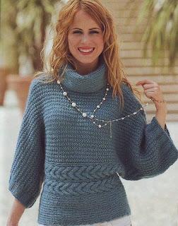 Пуловер — кимоно