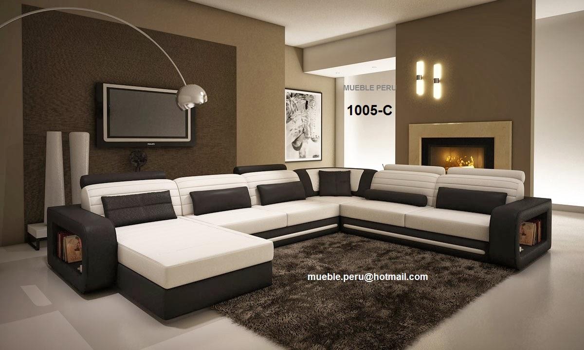Fotos de muebles de sala lineales for Imagenes de muebles modernos
