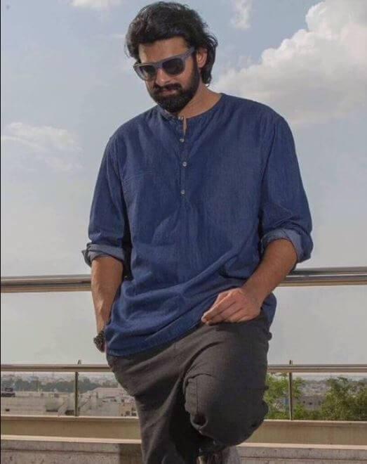Prabhas New Hair Style