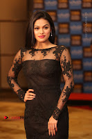 Actress Soniya Stills in Beautiful Black Long Dress at SIIMA Short Film Awards 2017 .COM 0001.JPG