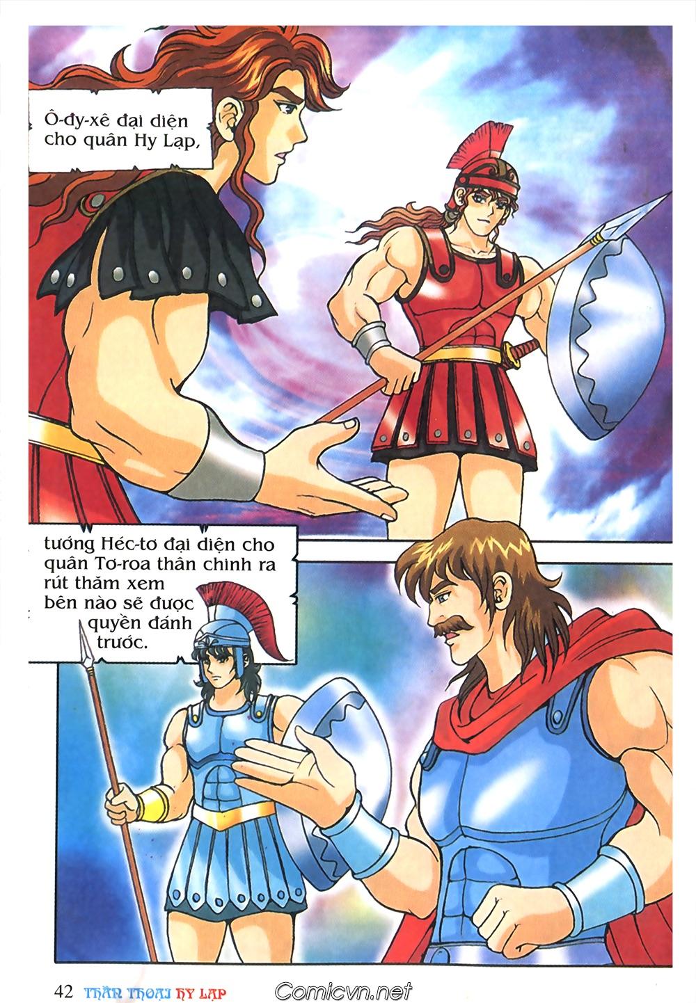 Thần Thoại Hy Lạp Màu - Chapter 57: Cuộc chiến định mệnh - Pic 39