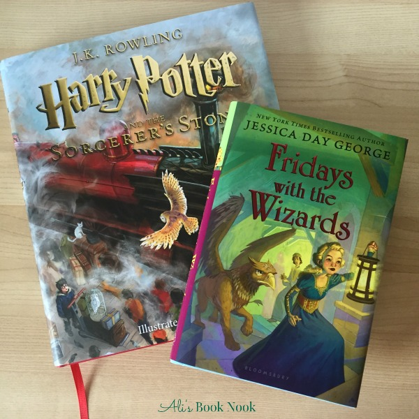 Middle Grade Magical Books Illustrated Harry Potter Friday with the Wizards