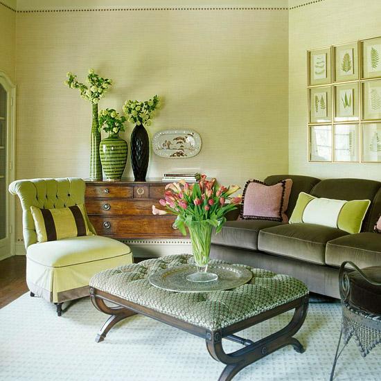 Modern Furniture: Fresh Living Rooms Decorating Ideas 2011