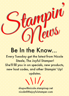 Stampin' News - Tuesday Stampin' Up! and The Joyful Stamper updates
