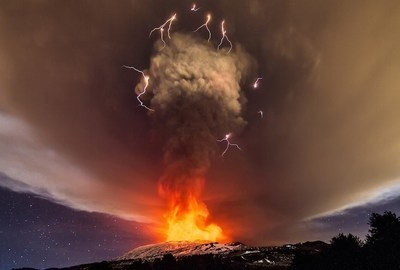 The Most Stunning Photos Of An Erupting Volcano Ever Taken.