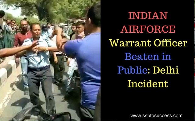 Indian Airforce Warrant Officer Beaten in Public Delhi Incident