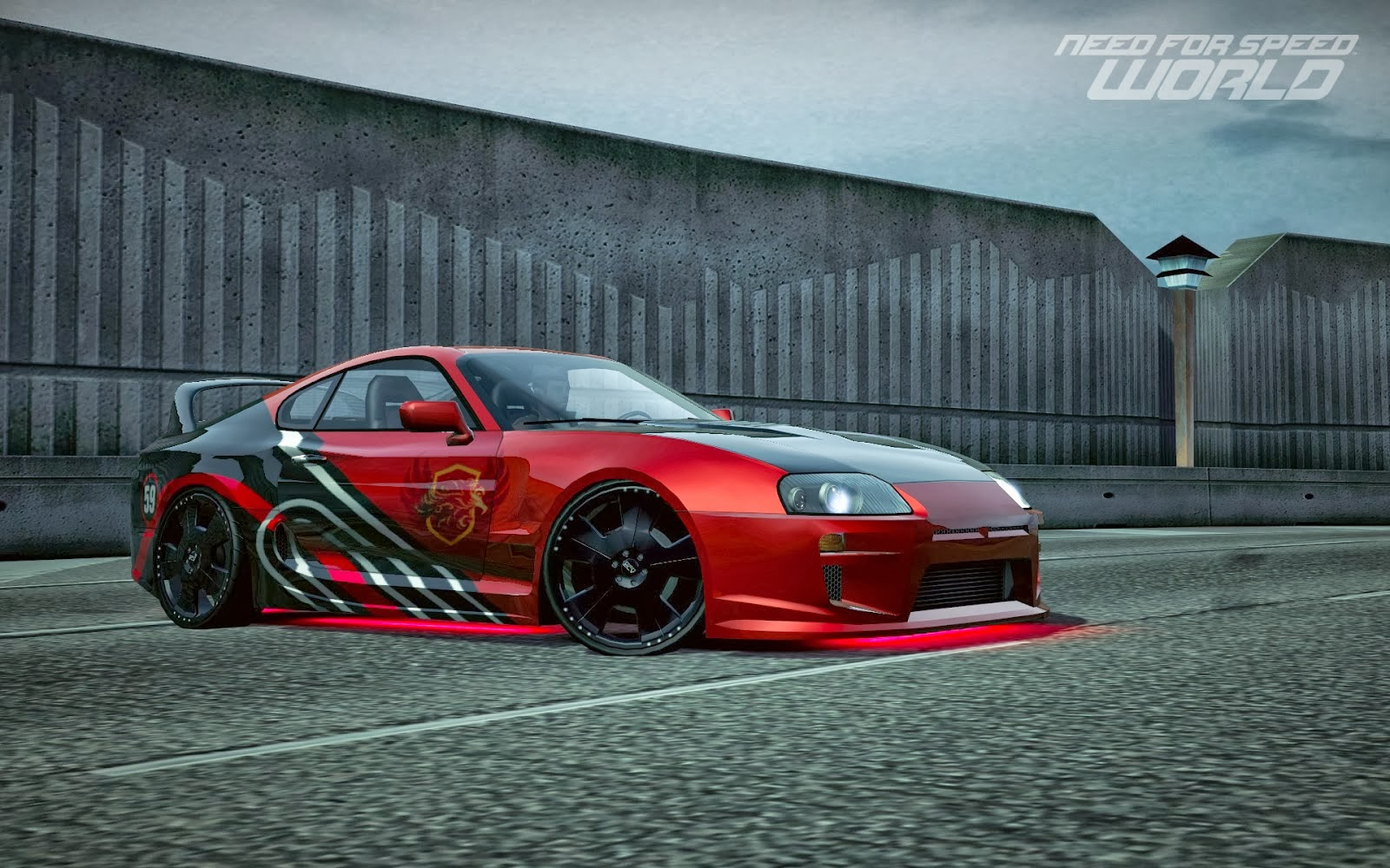 Wallpaper Toyota Supra Sports Car Need For Speed: Need For Speed World HD Images