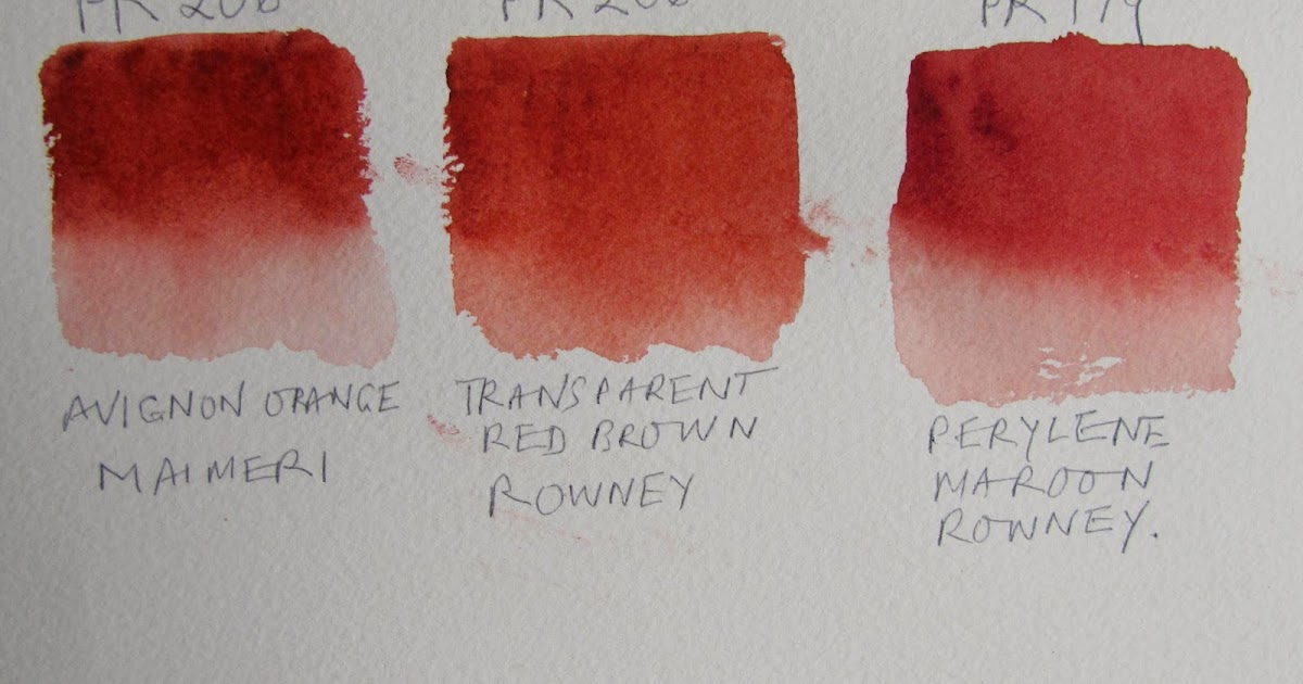 What Colour Paint Is Perylene Maroon