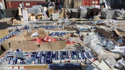 إحباط دخول 3.5 مليون قرص من العقاقير الطبية المحظورة بميناء الإسكندرية