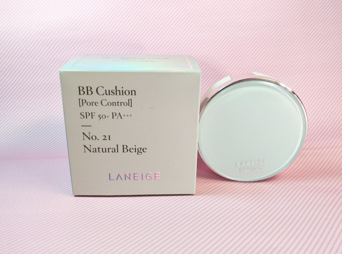 Review Laneige Bb Cushion Pore Control 21 Natural Beige Is It