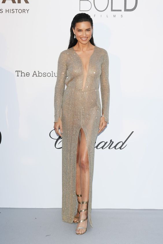 Adriana Lima in Julien Macdonald Dress - Image