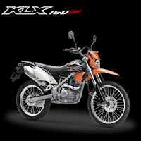 Pilihan Warna Kawasaki KLX 150BF Terbaru