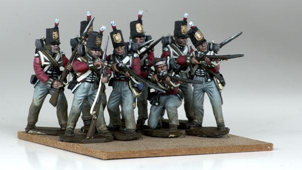 Victrix Napoleonic British Line Infantry