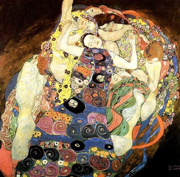 Desnudo femenino Klimt