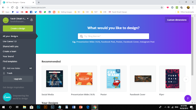 Canva Pemudah Cara Hasilkan Design Menarik