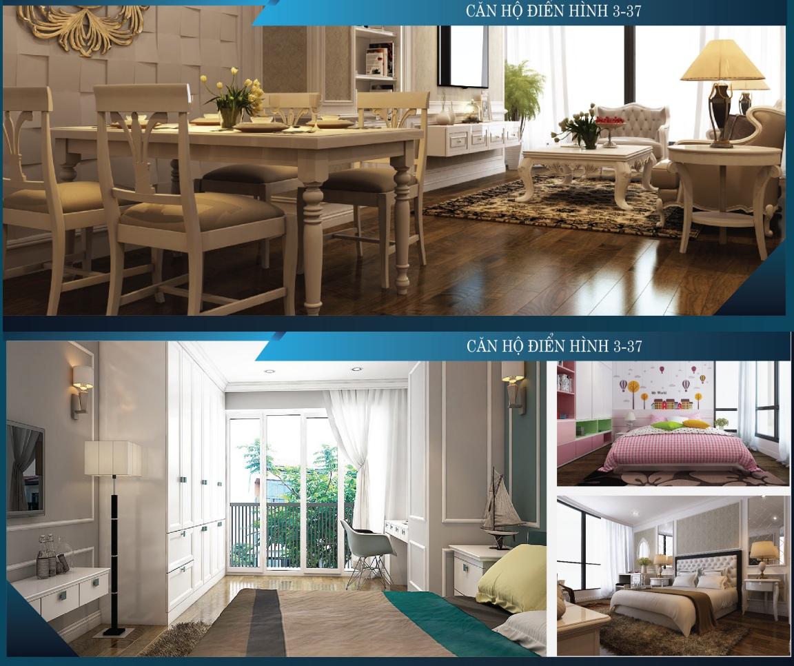Các căn hộ được thiết kế theo xu hướng mở đón gió lành, hướng sáng tự nhiên