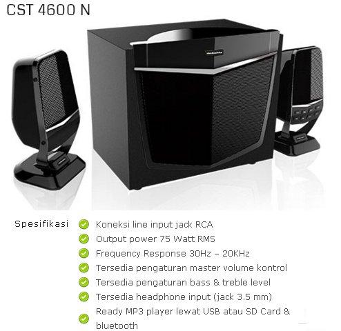 Simbadda Speaker Bluetooth CST 4600 N