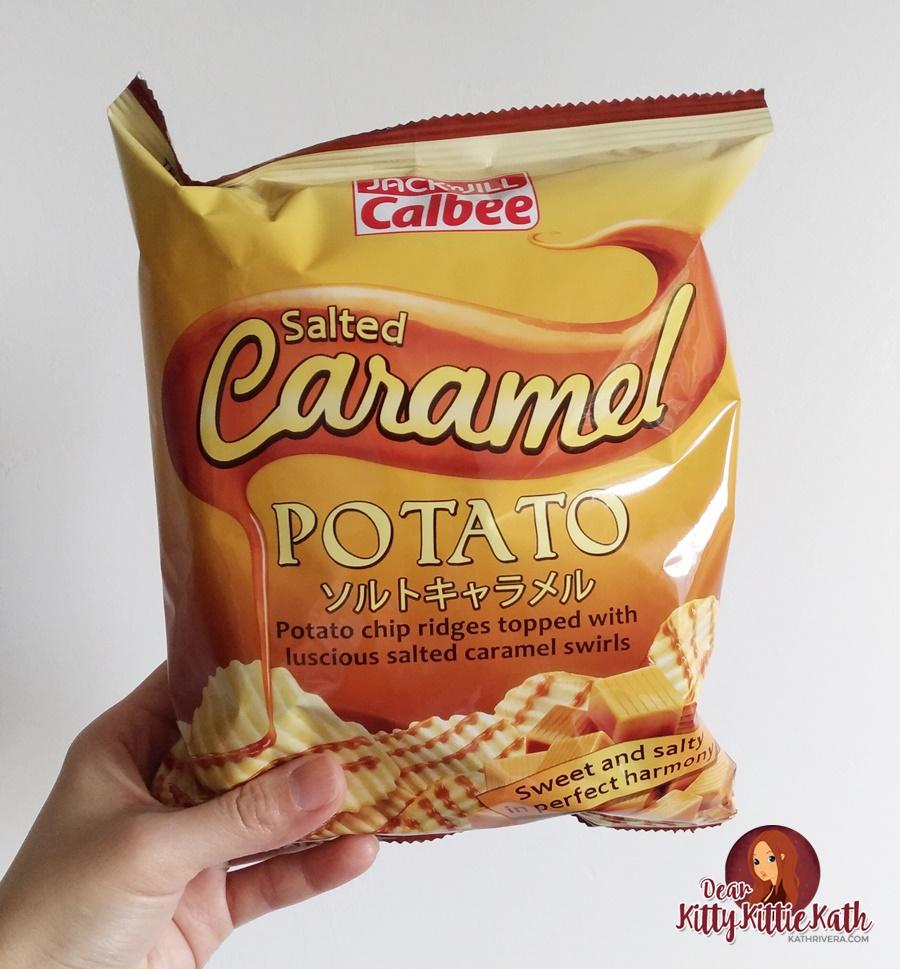 Jack 'n Jill Calbee Salted Caramel and Chocolate Potato Chips ...