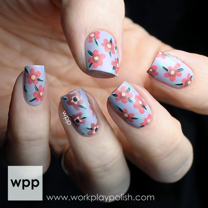 Nubar Spring in the City Collection Nail Art