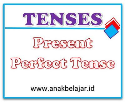 tenses present perfect tense dan contohnya