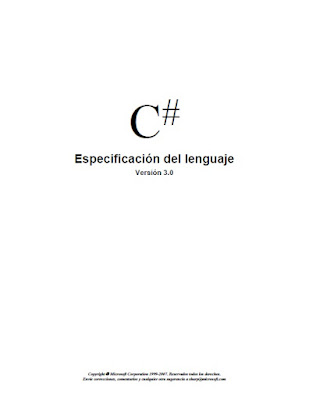 CSharp Language Specification