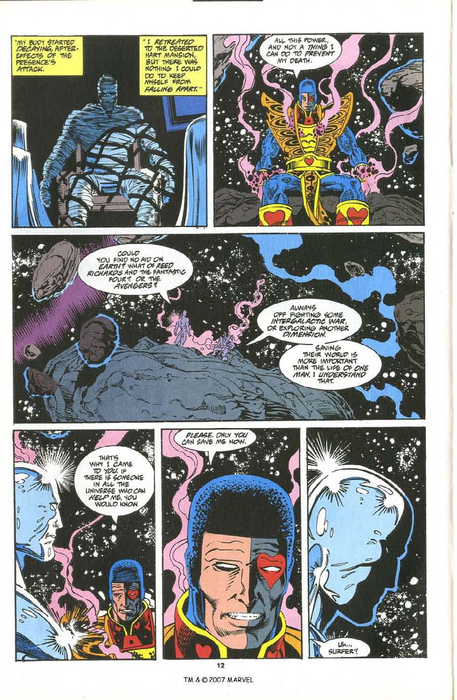 Read online Silver Surfer (1987) comic -  Issue #76 - 14