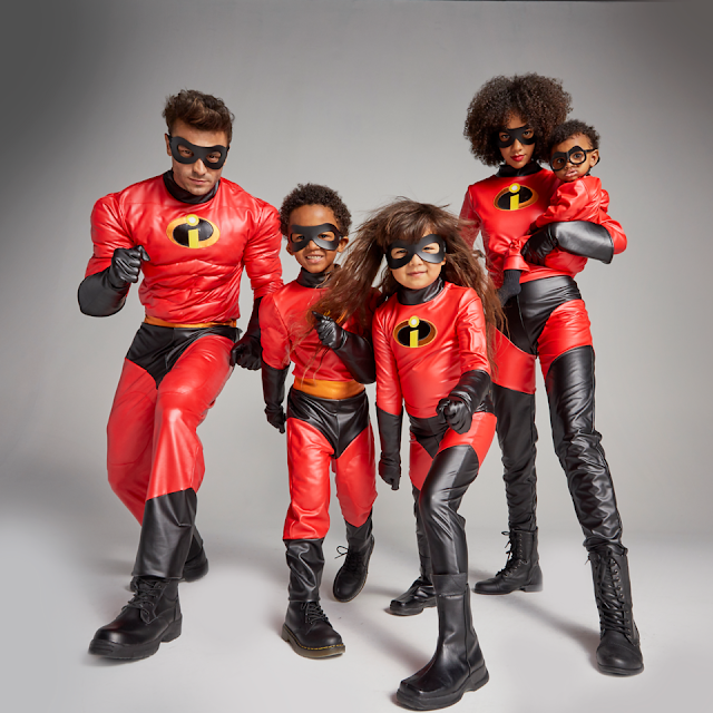 disney halloween costumes incredibles 2 family costumes