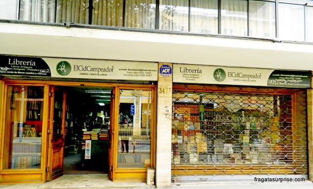 Livraria El Cid Campeador, Santiago do Chile