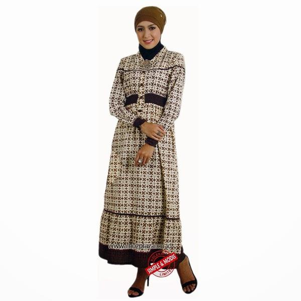15 Model Baju Hamil Batik Kerja Muslim Terbaru