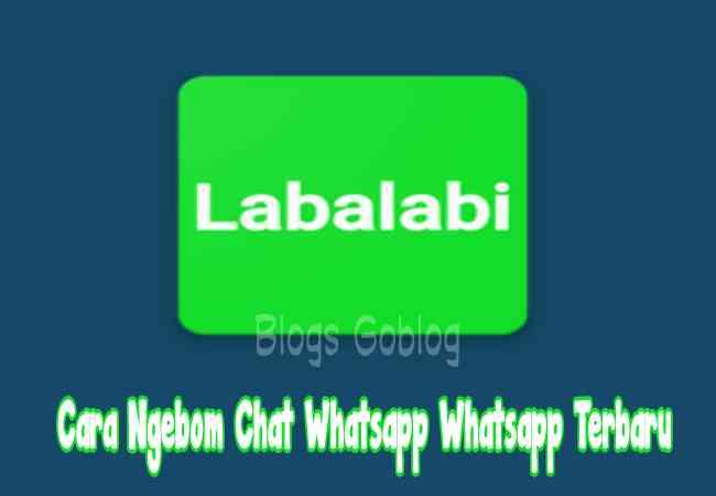 Cara Ngebom Chat Whatsapp Teman / Bom Grup Whatsapp Terbaru Terbaru