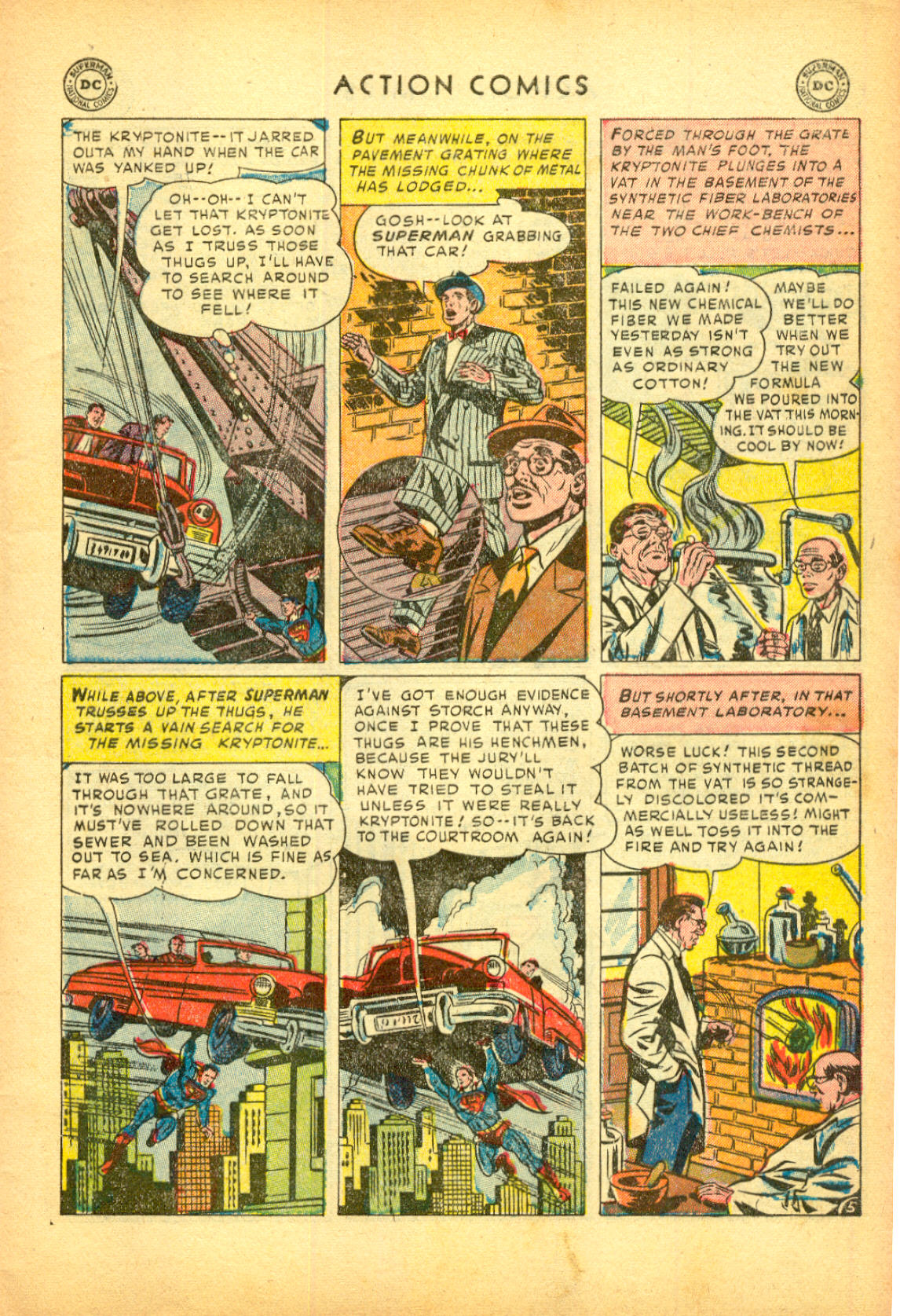 Read online Action Comics (1938) comic -  Issue #174 - 7