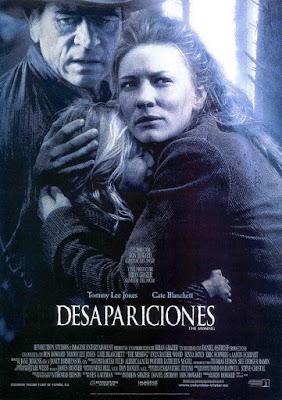 The Missing 2003 DVD R1 NTSC Latino