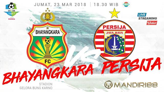 Prediksi Bhayangkara FC Vs Persija Jakarta, Jumat 23 Maret 2018 Pukul 18.30 WIB @ Indosiar