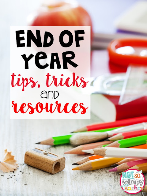 Lots of ideas for end of year classroom activities to make the last weeks or days of school extra fun!