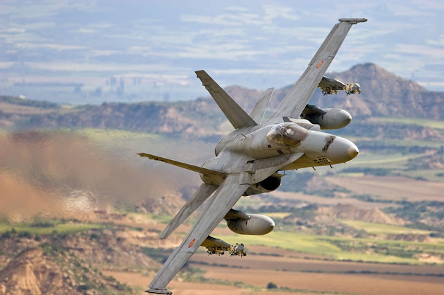 SPANISH EUROFIGHTER AND F-18 AIRSHOW SCHEDULE 2016