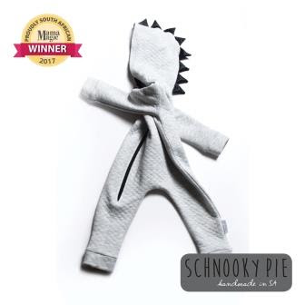 Proudly South African Winner: Schnooky Pie Dino Onesie