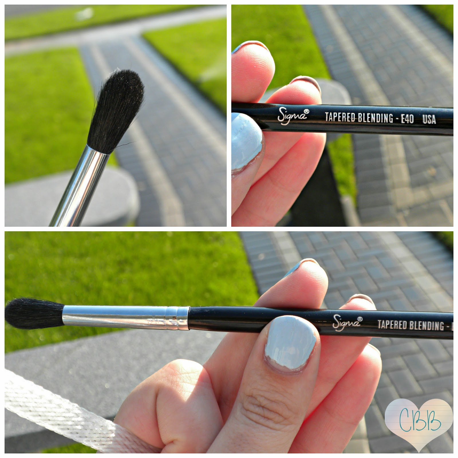 Eye Brush: SIGMA BEAUTY E40 Tapered Blending Brush ($16)