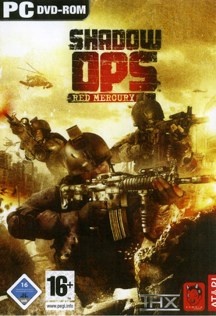 SHADOW OPS RED MERCURY Cover Photo