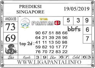 """Prediksi Togel """"SINGAPORE"""" PANTAI4D 19 MEI 2019"""