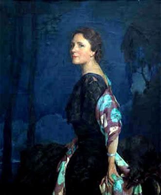 Retrato de dama, Francisco Pons Arnau, Pintor español, Pintor Valenciano, Pintura Valenciana, Impresionismo Valenciano, Pintor Pons Arnau, Retratos de Pons Arnau