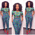 Ankara Trousers Style For Ladies