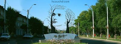 تمثال عميهاي إمينسكو في انستي، رومانيا