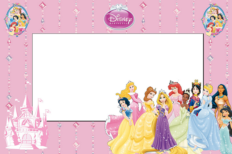 Disney Princess Free Printable Invitations Oh My
