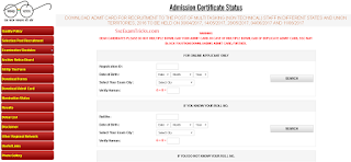 SSC MTS Admit card available now