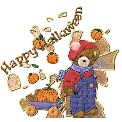Happy Halloween cartoon clipart cute 2016