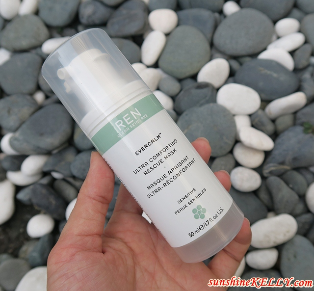 REN Evercalm Ultra Comforting Rescue Mask Review
