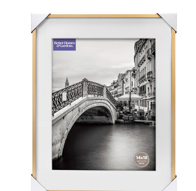 budget friendly gold brass matted frames