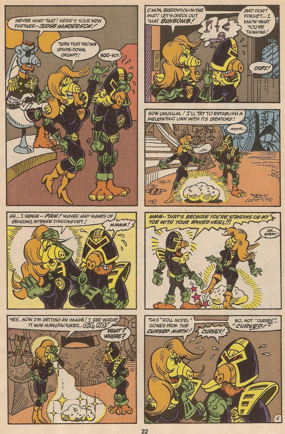 Read online ALF comic -  Issue #35 - 23