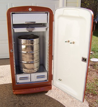 how to build a keg fridge