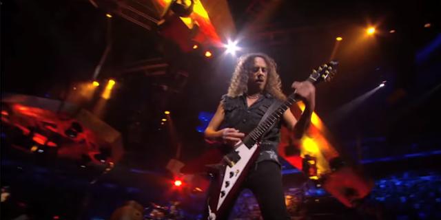 "Kirk Hammett revela canción favorita disco ""Hardwired... to Self Destruct"""